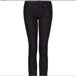 NEW! With tags! MNG by Mango sparkle front jeans